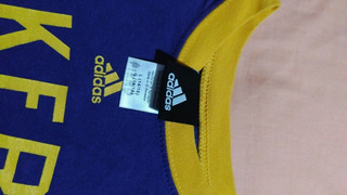 Camiseta Lakers Original adidas Talle 14