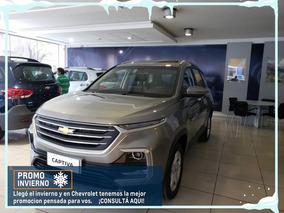 Chevrolet Captiva Lt Mt 5 Pasajeros 2019 Gris Plata 0km