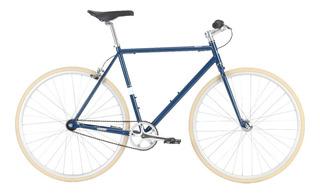 Bicicleta Del Sol Projekt Fixie Navy