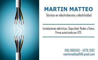Electricidad Maldonado - Costa De Oro - Mdeo (firma Ute)