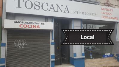 Local Comercial Con Vivienda ,excelente Punto !
