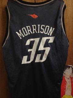 Camiseta Nba Morrison adidas Original Usada, Buen Estado