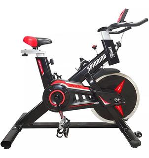 Bicicleta Spinning Profesional Regulable Disco 13kg - El Rey
