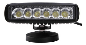 Faro Led Rectangular 16x4.5 6led Multi Voltaje