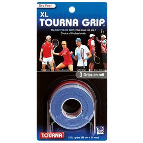 Set X3 Grip Tourna Xl Para Raqueta De Ténis Profesional