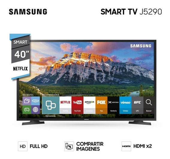 Tv Led Smart Samsung 40 Full Hd Netflix Wifi Usb J5290 - Ltc