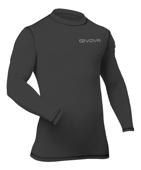 Camiseta Remera Térmica Givova Manga Larga Mvdsport