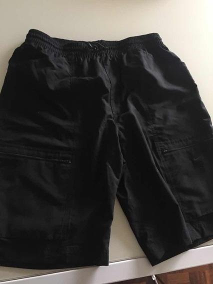 Short Bermuda Largo Nike Negro Talle L