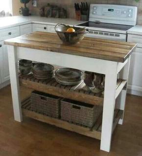 Mesa Para Cocina Tipo Desayunador - Hogar, Muebles y Jardín ...