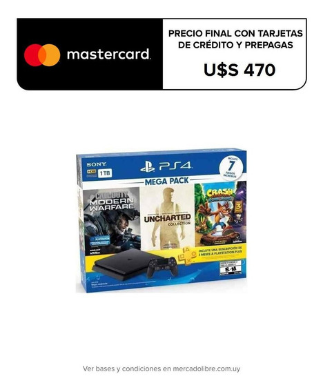 Playstation 4 Ps4 1tb + 7 Juegos + Ps Plus, Macrotec