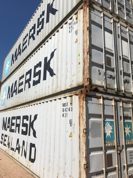 Contenedores Marítimos Usados Containers Vacios Clase A