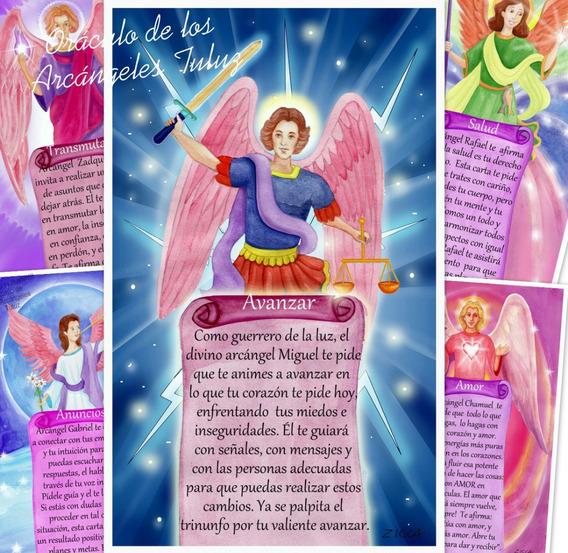 Cartas De Arcángeles-oráculo De Los Arcángeles Tuluz®