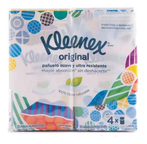 Pañuelos Kleenex Facial 4u