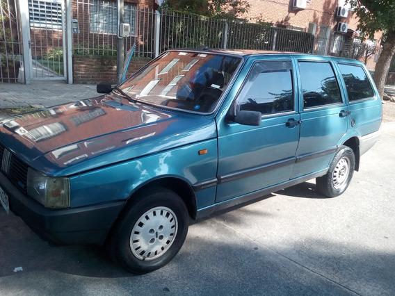 Fiat Weekend 88-c/detalles De Tiempo-nafta-5 P/motor Impecab