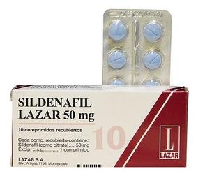 Sildenafil 50 Mg 10 Comprimidos