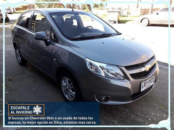 Chevrolet Sail Ltz 2014 Gris Oscuro 4 Puertas