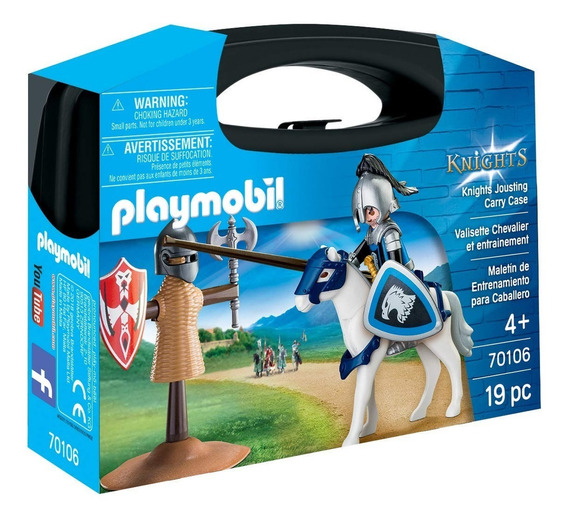 Maletin Entrenamiento Caballeros 470106 - Playmobil