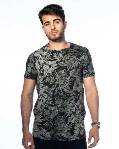 Remera Camiseta Hombre Estampada / Turk Splash 001