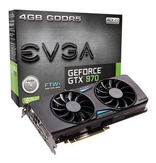 Evga Geforce Gtx 970 4gb Ftw+ Gaming Acx 2.0+ Whisper