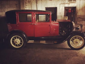 Ford A 1929 Leatherback