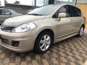 Nissan Tiida Special Edition Cuero Y Techo Nuevo!!! Aerocar