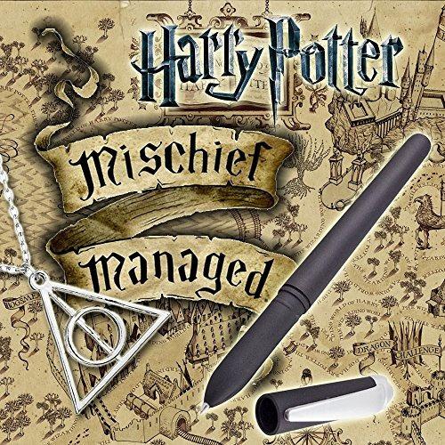 Harry Potter Pluma De Tinta Mágica Para Merodeadores Mapa Co