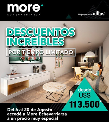 Vende - Pocitos - Monoambientes En More Echevarriarza