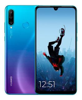 Huawei P30 Lite 128/4+ Lamina+ Estuche + Auric Gtia Oficial