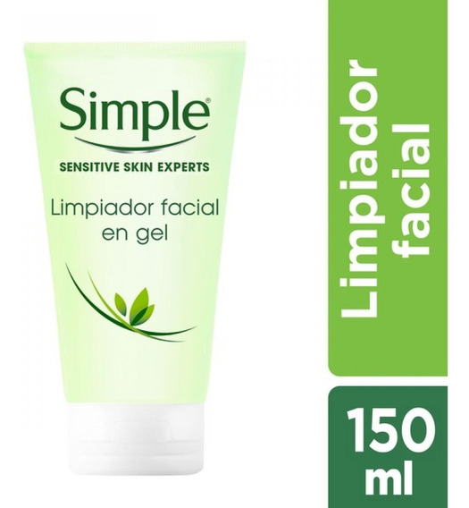 Gel Espuma Simple De Limpieza Facial Refrescante 150ml