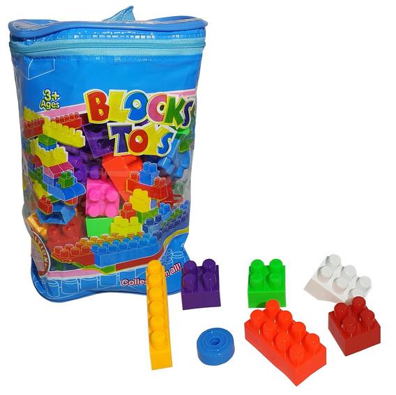 Set 74 Bloques De Juguete Tipo Lego Para Armar - El Regalon