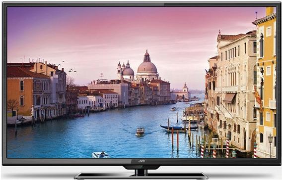 Tv Televisor Led Jvc 40 Full Hd 1080p Hdmi Usb 3 Años Gtia