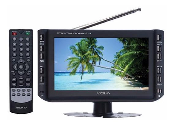 Ff Mini Tv Digital 7 Pulg Xion Reprod Multimedia Usb Mp3 Tv7