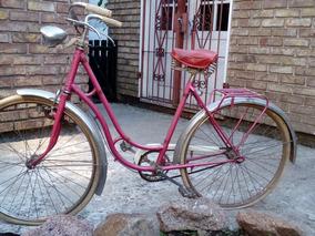 Bicicleta De Dama Con Frenos De Varilla