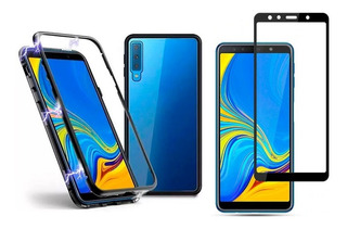 Protector 360 Magnetico A7 2018 A9 2018 Note 9 + Vidrio 5d