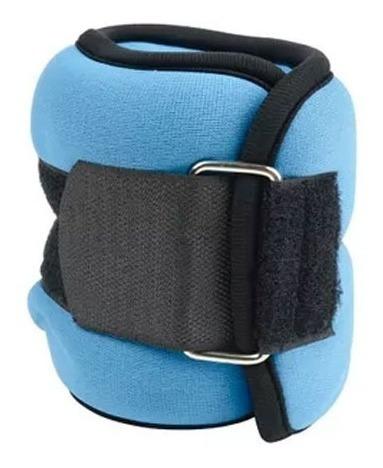 Tobi Pesas Tobillos Mor 1kg Fitness Running Pilates Azul