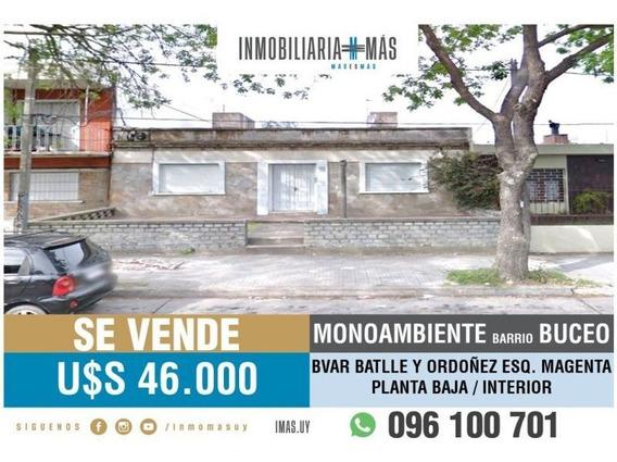 Apartamento Monoambiente Venta Buceo Montevideo Imas.uy L