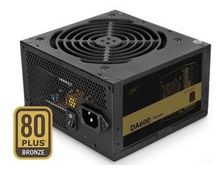 Fuente Deepcool 600w Reales 80 Plus Bronze Fan 140mm - Lich