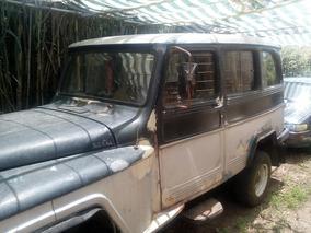 Willys Rural 1972 Motor Y Caja Isuzu 2.4 3 Puertas .