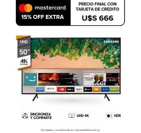 Smart Tv Led Samsung 50 4k Uhd Nu7100 Web Browser Wi Fi Pcm