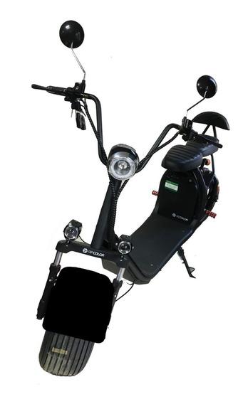 Moto Scooter Eléctrica Fh01 1500 Watts Hasta 170 Kg En Stock