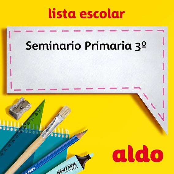 Lista Escolar Seminario Primaria 3º