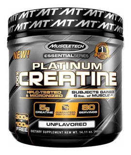 Creatina Muscletech Platinium Usa 400gr
