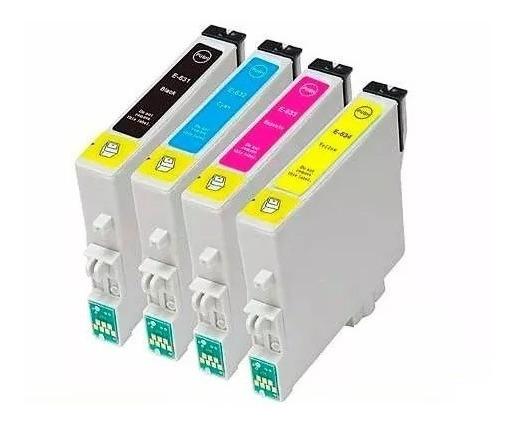 Pack 4 Cartuchos Compatibles Epson T23/t24/cx5600/tx115