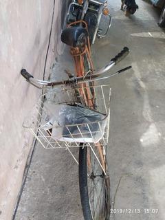 Bicicleta Antigua Monark Con Detalles