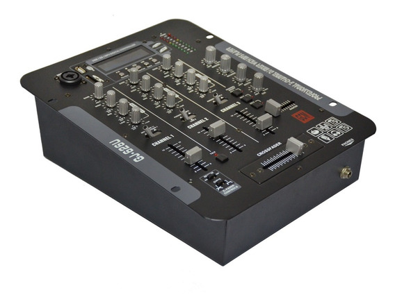 Mixer Pro 6 Entradas Control Tono Independiente Gj-626usb