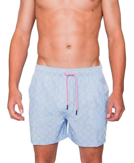 Short De Baño Hombre Crouch - Geometrico