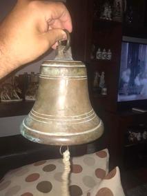 Antigua Campana De Bronce De Barco