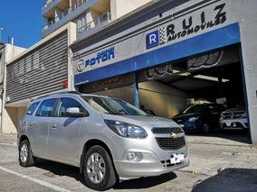 Chevrolet Spin Ltz At 2017 7 Pasajeros Inmaculada