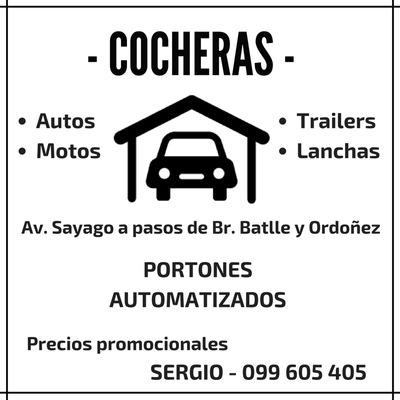 Cocheras En Alquiler - Sayago Y Batlle Y Ordoñez
