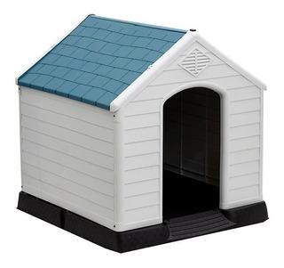 Casa Cucha Para Perro Grande Azul Excelente Oferta